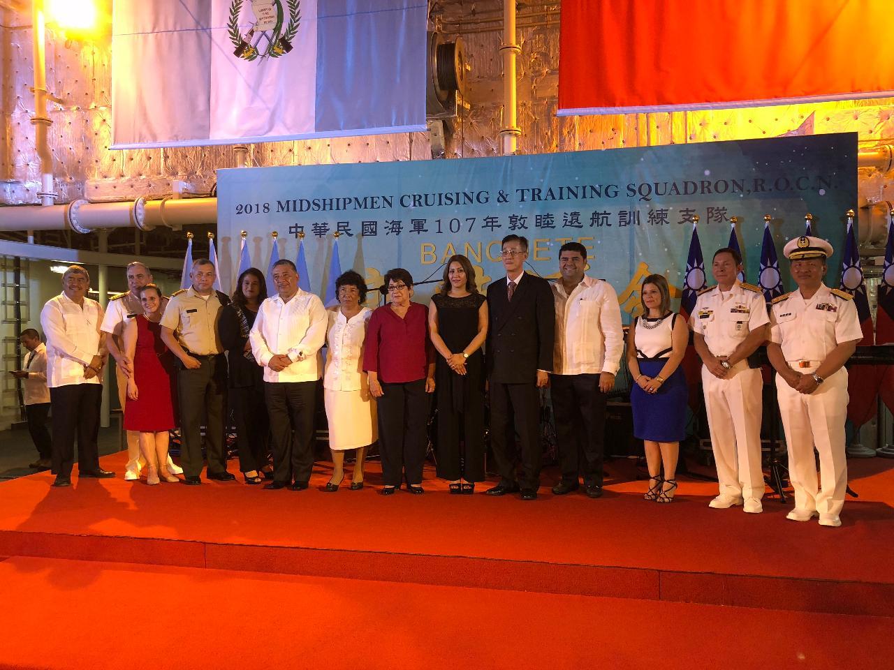 中華民國海軍「107年敦睦遠航訓練支隊」圓滿完成訪瓜行程