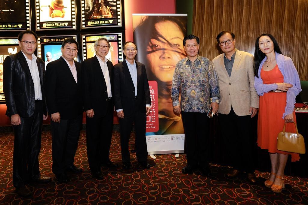駐新加坡台北代表處支持「第六屆新加坡華語電影節」推廣臺灣電影