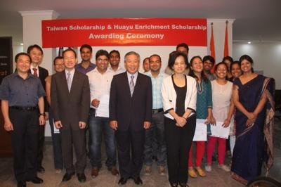 Taipei Economic and Cultural Center in India held the Taiwan Scholarship Awarding Ceremony on 15th July