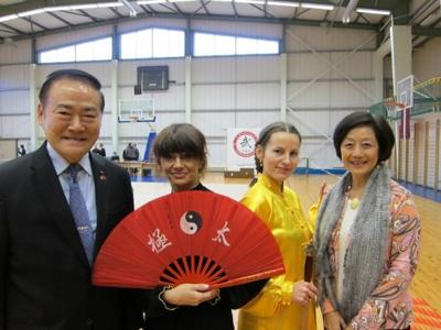Representative Ko and Madame Ko attended the 7th Latvian Chinese Martial Arts Tournament